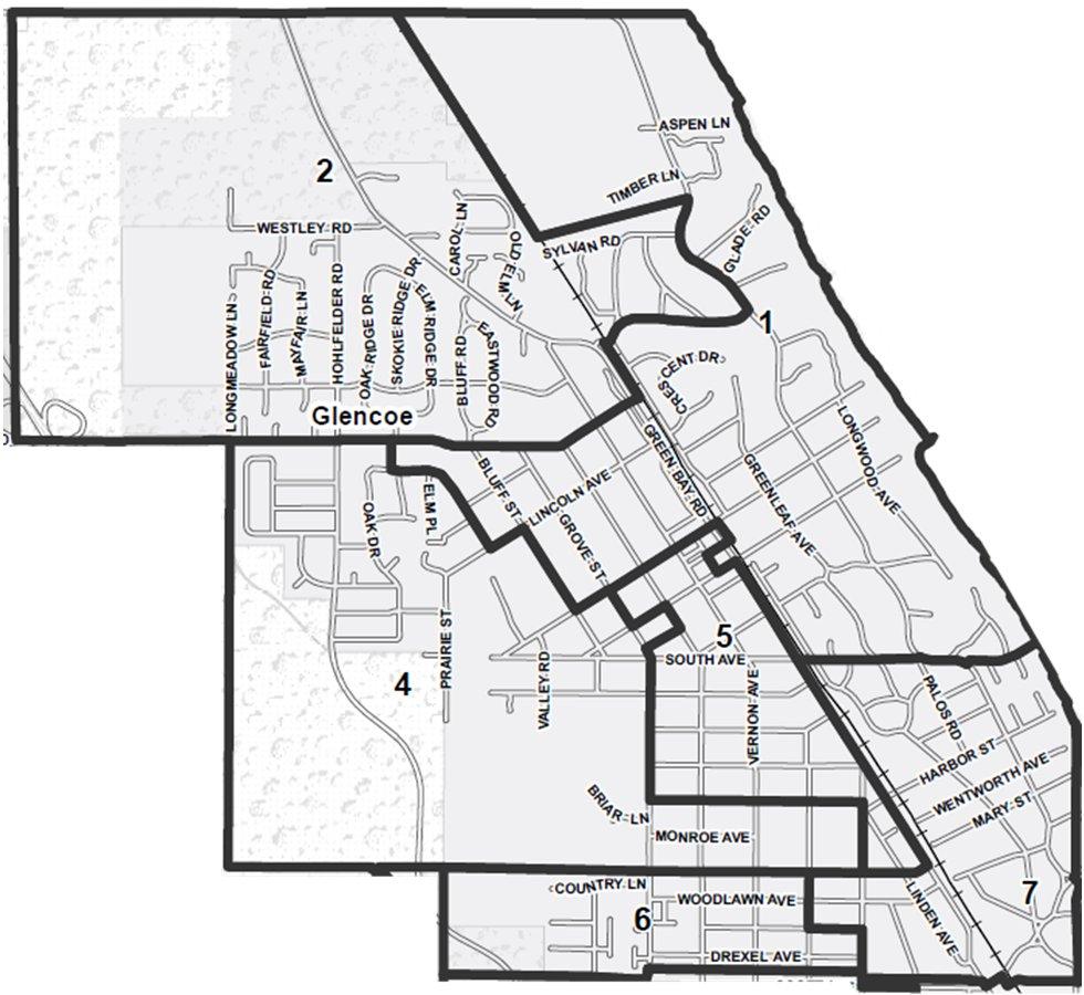 Glencoe Precincts Redistricted 2014
